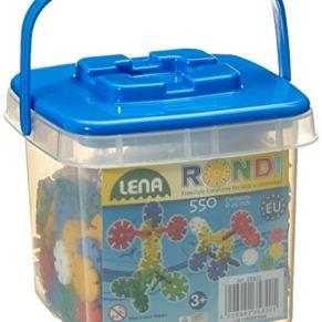 Lena Rondi 25 Bucket - Juguetes de construcción (Juego de construcción,, 3 año(s), 550 Pieza(s), Niño/niña, Europa)
