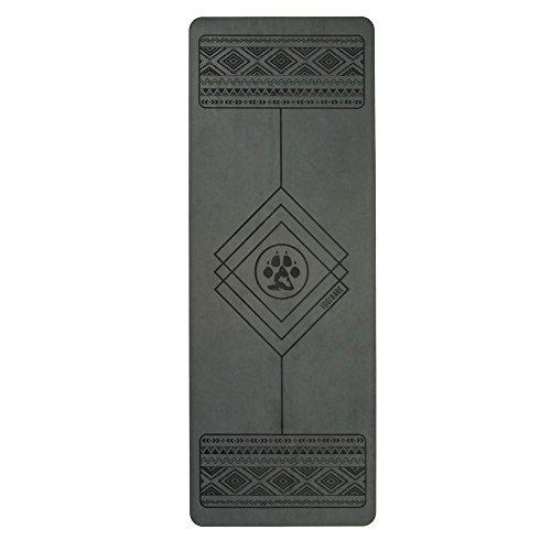 Yogi-Bare 4mm Professionale studio stuoia yoga - Griptech antiscivolo superficie con eco friendly...