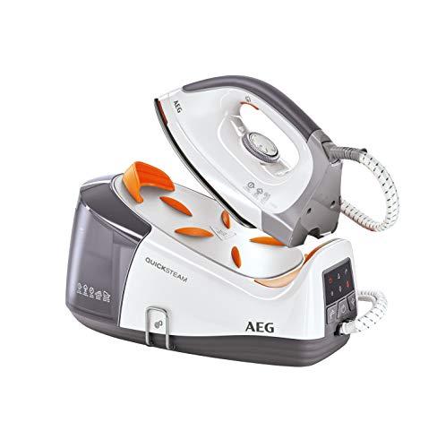 AEG DBS3350 Ferro da stiro con caldaia, 1.2L, colore Grigio/Bianco