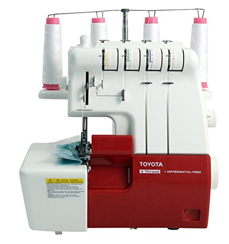 Toyota SLR 4D serger with accessories