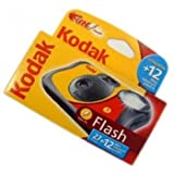 Kodak FUNFLASH/39 Appareil photo jetable avec flash - 27+12 poses