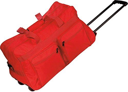 Subito disponibile Borsa borsone trolley da viaggio con ampie tasche e tracolla