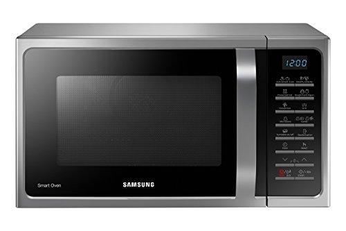 Samsung Forno a Microonde Combinato da 900 W con Grill e Piatto Doratore, 28 Litri, Grigio