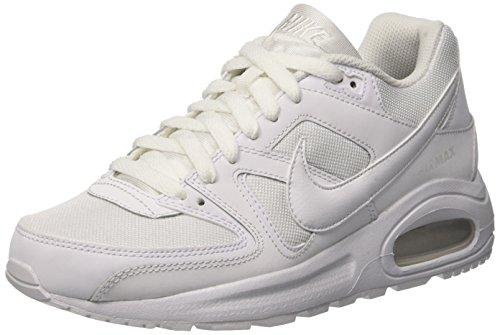 Nike Air Max Command Flex, Zapatillas para Niños, Blanco (White / White / White), 38 EU