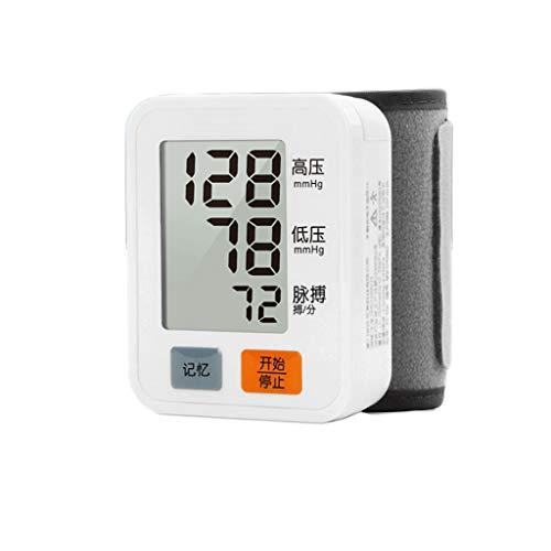 Blutdruckmonitor Elektronische Druckmessgeräte Haushalts-Blutdruckmessgerät Hohe Präzision Handgelenks-Elektronisches Blutdruckmessgerät Messgerät Instrument Handgelenk Haushalts-Blutdruckmessgerät