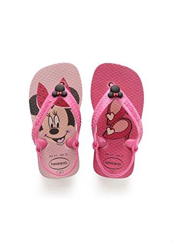 Havaianas Baby Disney Classics II Infradito Unisex bimbo, Rosa (Pearl Pink), 22 EU
