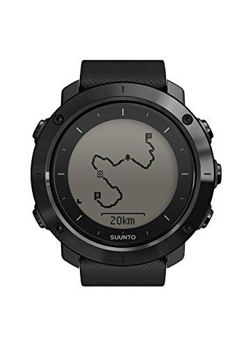 Suunto, Traverse, Orologio GPS per l'Outdoor, Unisex - Adulto, Nero (Saphire Black), Taglia Unica