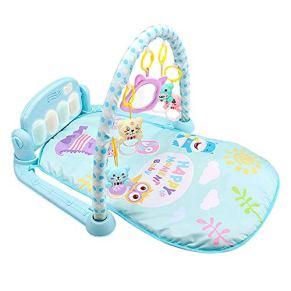 Kick and Play Newborn Toy con piano,Baby Activity Gym Mat Kick Play Piano Mat Center,Activity Toys, Play Mat Activity Gym for Baby.
