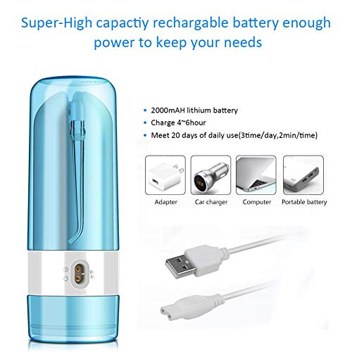 iBaste Irrigateur Dentaire Portable Nettoyeur de Dents électrique Fil d'eau d'irrigation Orale 26