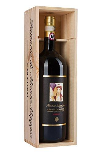 Vino Rosso - Chianti Classico Riserva - Vino Tuscano - Bio - Vino Gallo Nero - Sangiovese - Vino Biologico - Fattoria di Montemaggio