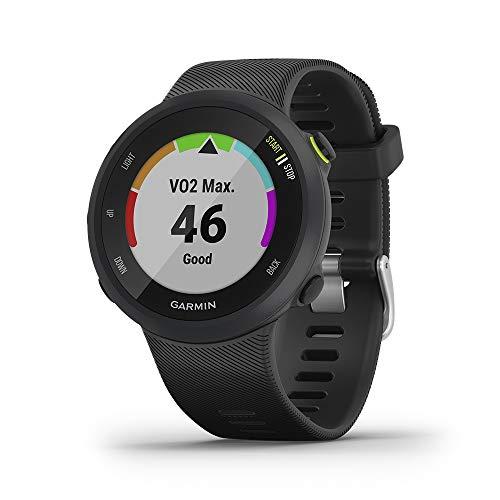Garmin Forerunner 45, Orologio Smart GPS per la Corsa e Altri Sport Unisex, Nero, L