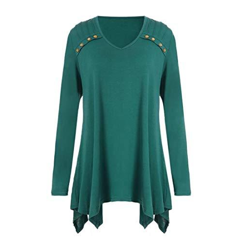 YunYoud Frauen Herbst Winter Lose Langarm Taste Plus Size Bluse T-shirts  blusen online weißes hemd damen günstig karierte gestreifte bluse hellblaue  schwarz ... 1372d6f010