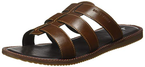 Bond Street by (Red Tape) Men's Tan Sandals-8 UK/India (42 EU) (BCE0053-8)