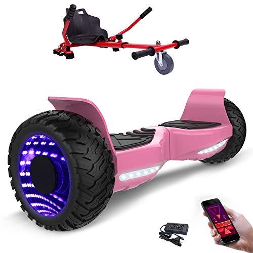 MARKBOARD Hoverboard con Ruote 8.5 Pollici, inlude Kart, Balance Board SUV off-Road, 700W con App,...