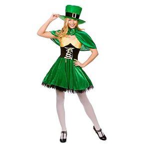 Lucky Leprechaun - Adult Costume Lady : X LARGE