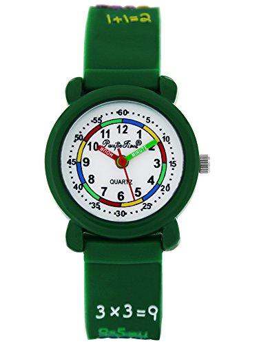 Pacific Time Orologio Bambini di apprendimento Orologio 1X 1rechnen imparare Ragazzi delle...
