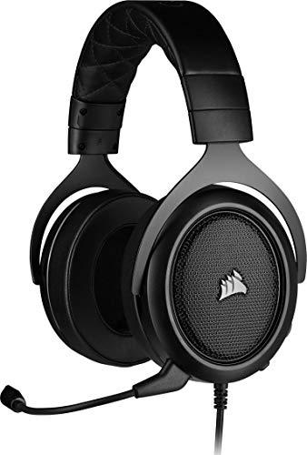 Corsair HS50 PRO Stereo Cuffie Gaming con Microfono, Padiglioni Memory Foam Regolabili,...