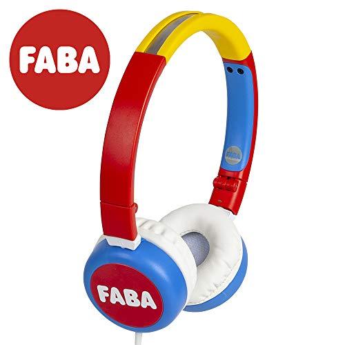 Cuffie On-Ear pieghevoli - cuffia bambino originale FABA, FABA HPW40001