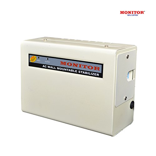 MONITOR 4-KVA Wall Mountable Voltage Stabilizer for 1.5 Ton AC With 5-Year Warranty