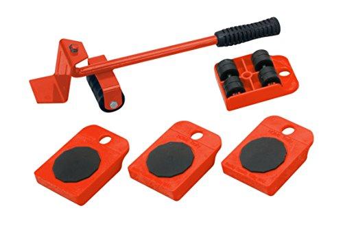 Meister, articolo: 419900 - Rullo di trasporto per mobili, set da 5 pezzi