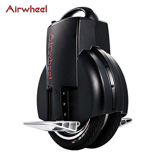 Airwheel Q3, Monoruota Elettrico Autobilanciante Uomo, Nero, 51.8 x 40.8 x 20 cm