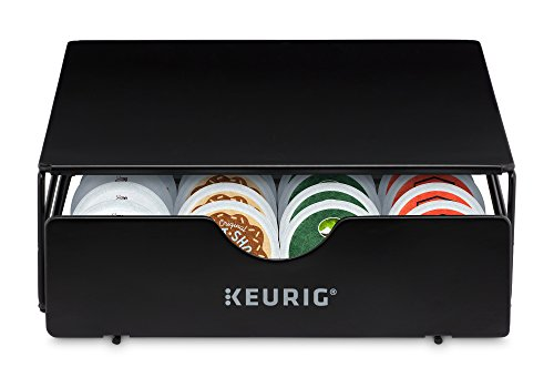 Keurig 5000197730 24ct Storage Drawer Coffee Machine Accessory, 24 Count, Black