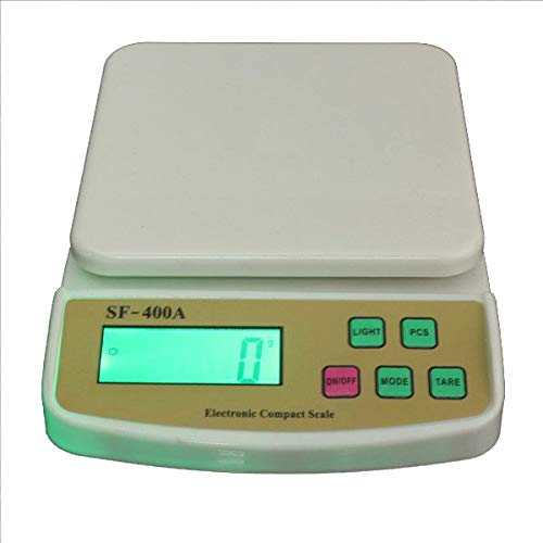 JAPP ABS Digital Kitchen Electronic Weighing Scale 10 Kg Advance Weight Measure, Spices, Vegetable, Liquids (Multicolour)