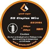Geekvape Wickeldraht Clapton SS316L 26GA/30GA 3m