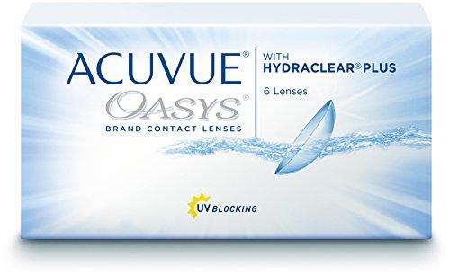 Acuvue Oasys 6 lenti quindicinali, Morbide, Diottrie -0.75