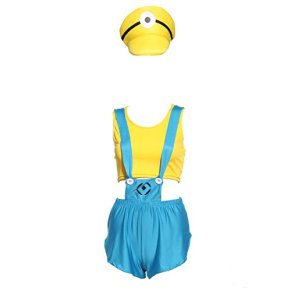 Anladia - Disfraz GRU, Mi Villano Favorito para Adulto Mujer Cosplay Dress Fiesta Carnaval Halloween Talla S (38) Talla…