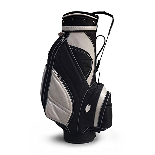 Golfoy Fat Zipperhead 2.0 Golf Cart Bag (White/Black)