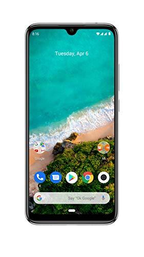 Xiaomi Mi A3 (More Than White, 4GB RAM, 64GB Storage) - Extra 1,000 Off on Exchange & 6 Month No Cost EMI