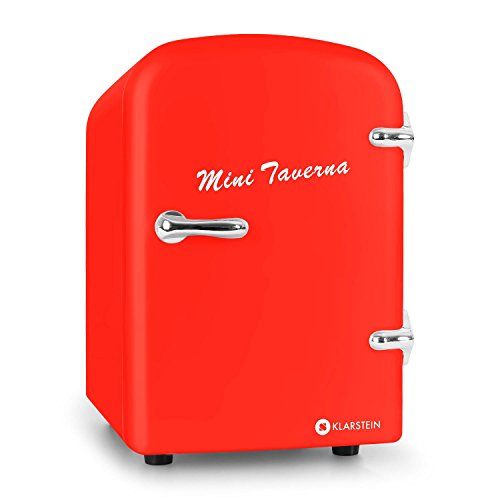 Klarstein Bella Taverna minifrigo freddo/caldo (4litri, refrigerazione e mantenimento calore, design...