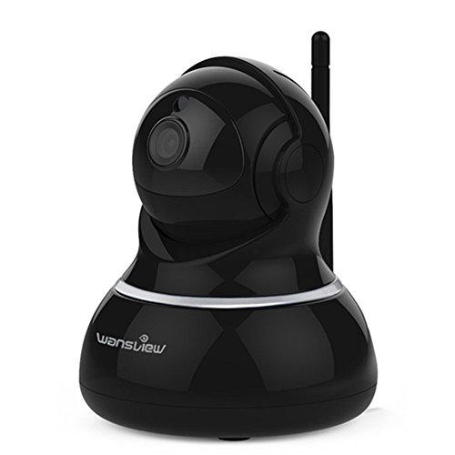 Wansview Wlan IP kamera, Schwenk- und Neige- WiFi IP Sicherheitskamera, Plug/Play...