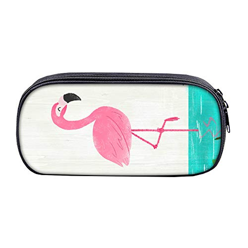 Unisex Flamingo Astucci Sacchetto della penna della ragazza di personalità della borsa della...