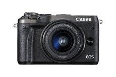 Canon EOS M6 MILC 24.2MP CMOS 6000 x 4000Pixeles Negro - Cámara Digital (24,2 MP, 6000 x 4000 Pixeles, CMOS, Full HD, Pantalla táctil, Negro)