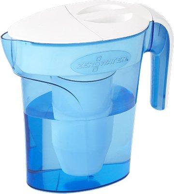 ZeroWater 1.66L water filter jug with cartridges bundle (blue) (4 months of ZeroWater) (1 cartridge)