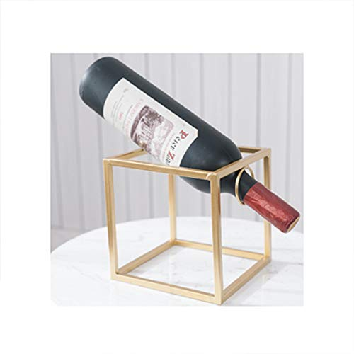 WAJI Scaffale per Vino Semplice Decorazione per scaffale per Vino in Metallo Nordico Decorazione per...