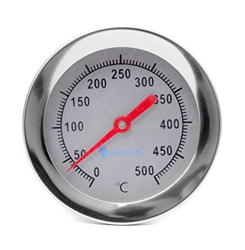Lantelme 2098 400 °C/30 cm legno forno/forno per pizza/Pietra forno/forno termometro