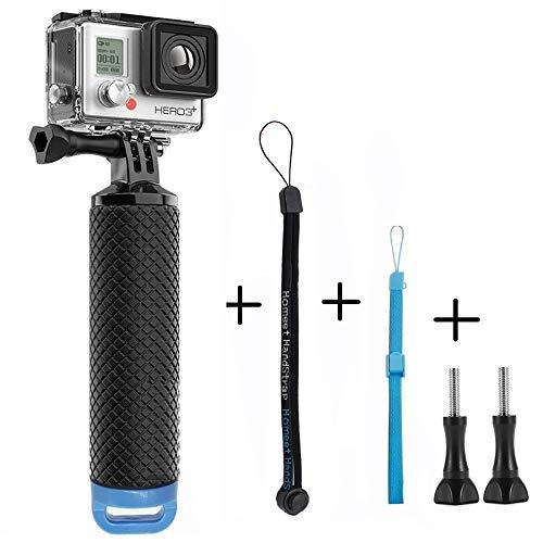Homeet Bastone Galleggiante per GoPro, Action Cam Impugnatura Impermeabile Handle per SJCAM/ Akaso/ Garmin Virb/ DBPOWER/ YI 4K/ QUMOX/ Rollei/ Apeman 【BLU】