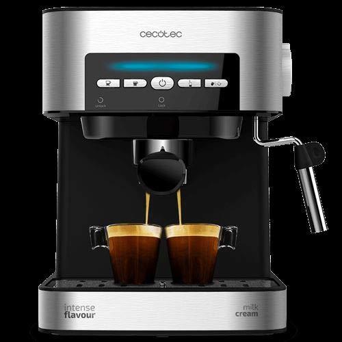 Cecotec V1704521 - Macchina per il caffè digitale per espresso e cappuccino, 20 bar, ugello a...