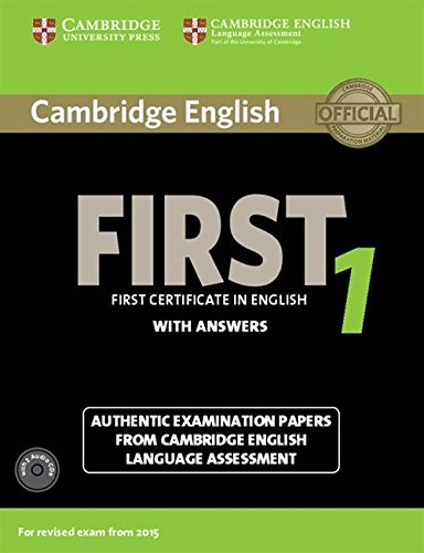 Cambridge first certificate in english. For updated exam. Self-study pack. Con CD Audio: First Certi