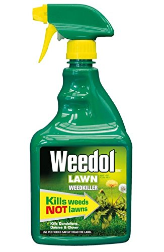 Weedol Lawn Weedkiller, Kills Weeds Not Lawns, 800ml Spray Gun!