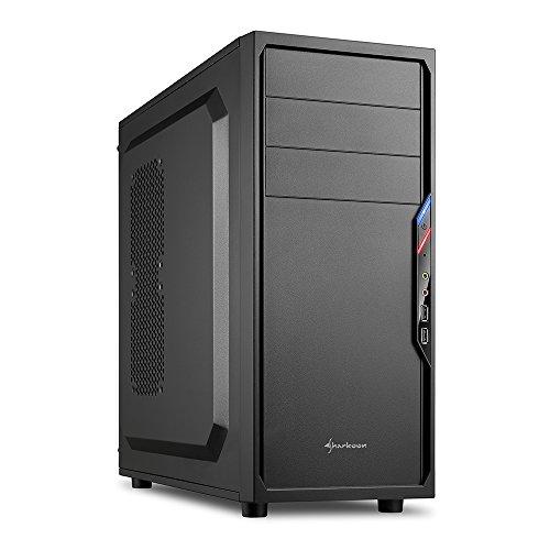 Sharkoon VS4-S PC-Gehäuse (2x USB 2.0, ATX) schwarz