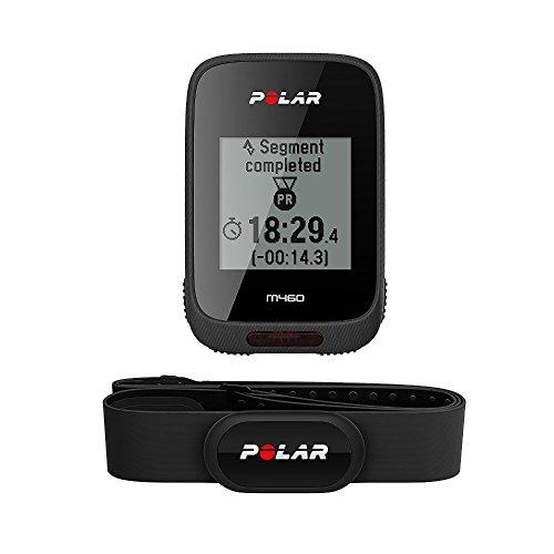 Polar M460 HR, Bike Ciclocomputer con GPS Integrato e Fascia Cardio H10 M-XXL: 65-93 cm...