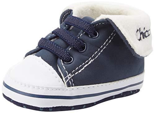 Chicco Polacchino Naval, Sneaker Bambino, (Blu 810), 17 EU
