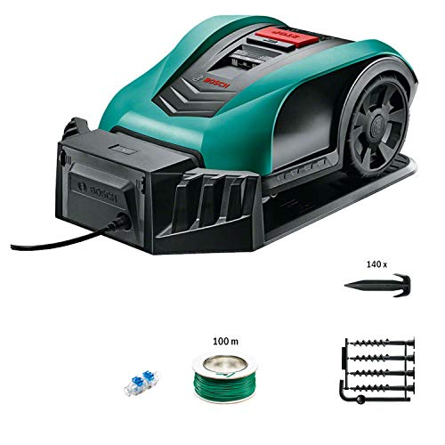 Bosch tagliaerba fai da te, 18 V, 2,5 Ah, fino a 350 m² per carica falciatura, 1 pezzo, 06008B0000