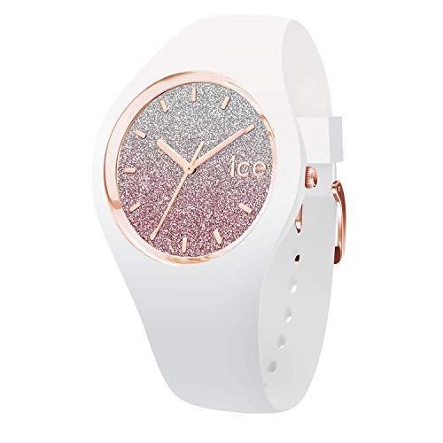 Ice-Watch - Ice Lo White Pink - Orologio Bianco Da Donna Con Cinturino In Silicone - 013427 (Small)