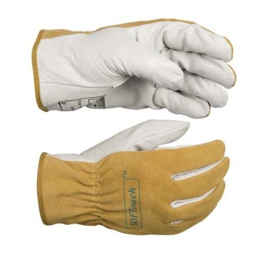 Saldatore Glovesargon Saldatura ad arco Guanti Deerskin Short Gloves Saldatura ad alta temperatura...