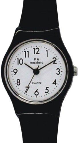 Maxima Analog White Dial Women's Watch - 02502PPLW